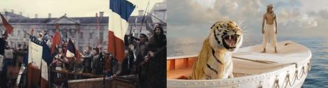 Les Miserables and Life of Pi