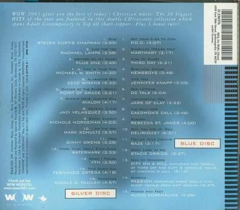Wow 2001 Tracks