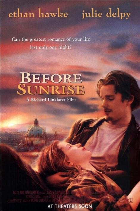 Before Sunrise poster
