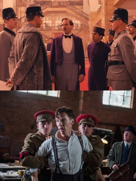 The Grand Budapest Hotel The Imitation Game