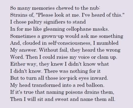 Sonnet No. 5